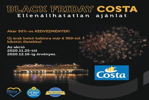 Black friday Costa costa cruises